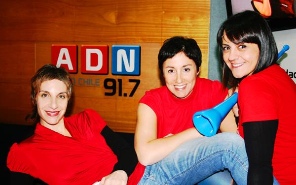 Las sopranos de la Copa América en ADN Radio Chile 1