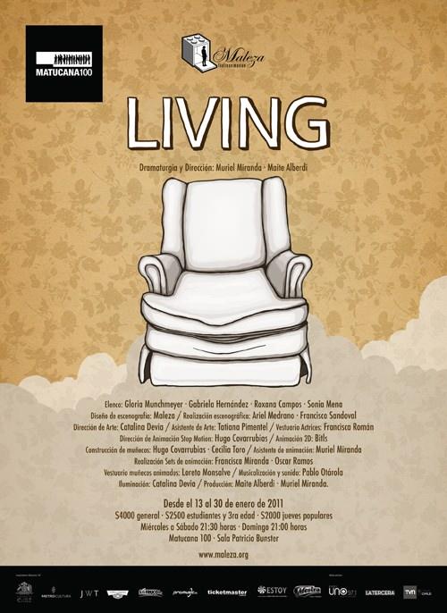 Obra de Teatro Living 1