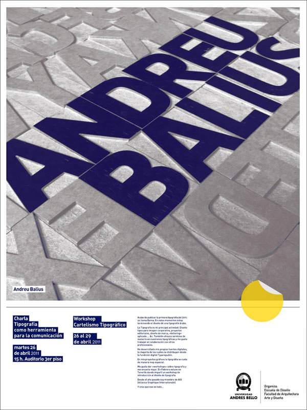 Charla con Andreu Balius en la Universidad Andrés Bello 2