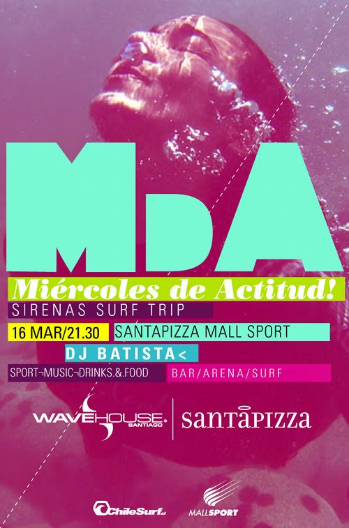 Vuelven los Miércoles de actitud en SantaPizza 1