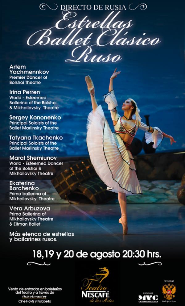 """Concurso: Gana entradas para """"Estrellas Ballet Ruso"""" 3"""
