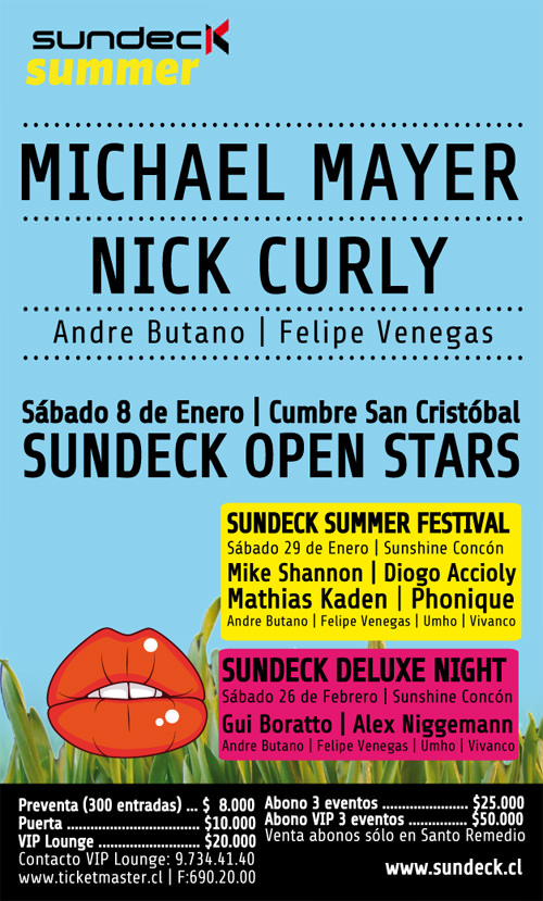Michael Mayer + Nick Curly en Chile  3