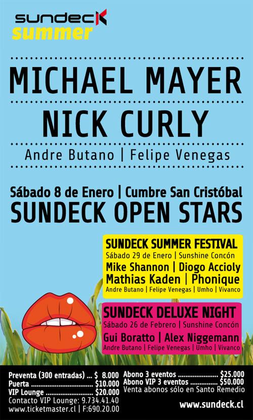 Michael Mayer + Nick Curly en Chile 3