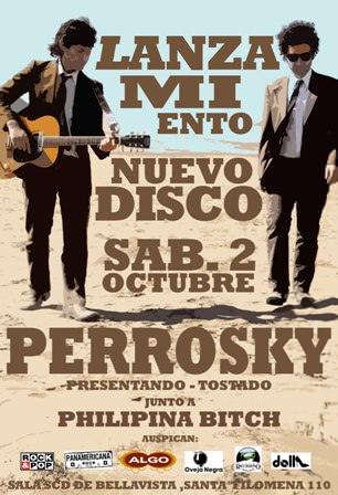SAB/02/10 Lanzamiento disco Perrosky 3