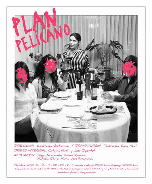 Teatro: Plan Pelícano 3