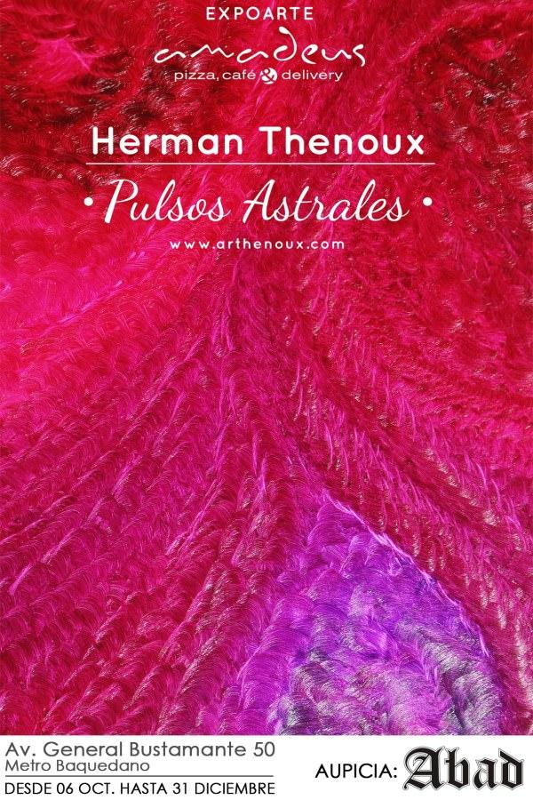 Pulsos Astrales de Herman Thenoux en Café Amadeus 1
