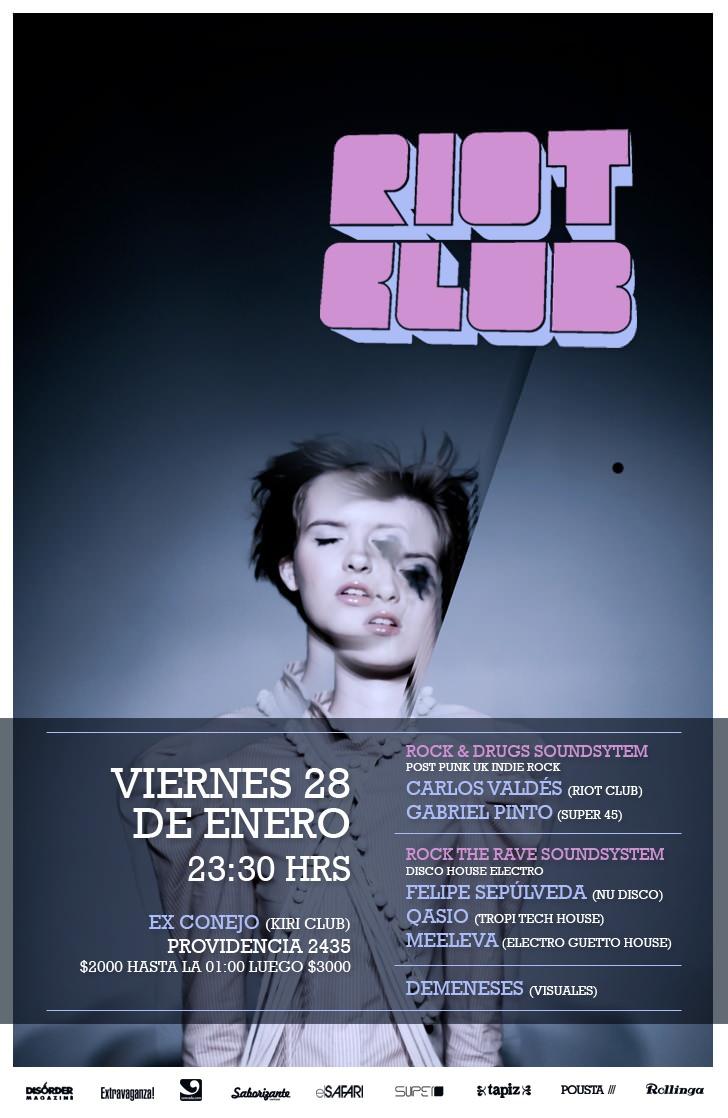 VIE/28/01 Fiesta Riot Club 1
