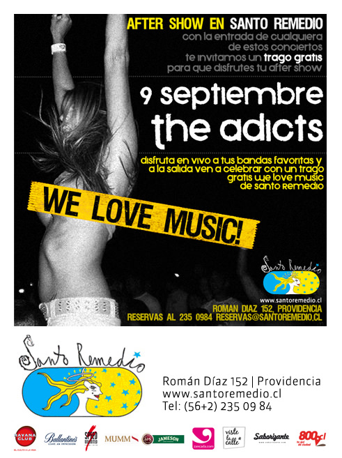 JUE/09/09 We Love Music, Santo Remedio 1