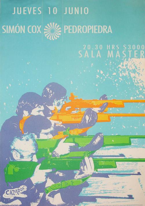 JUE/10/06/10 Simón Cox + Pedropiedra en Sala Master 1