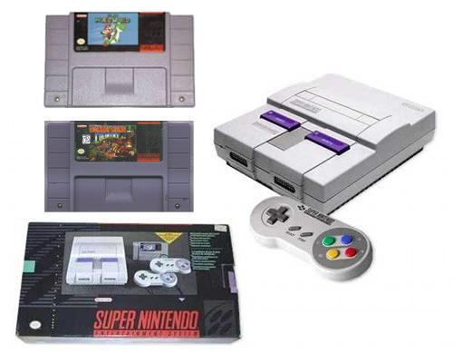 Objeto de deseo: Super Nintendo 3
