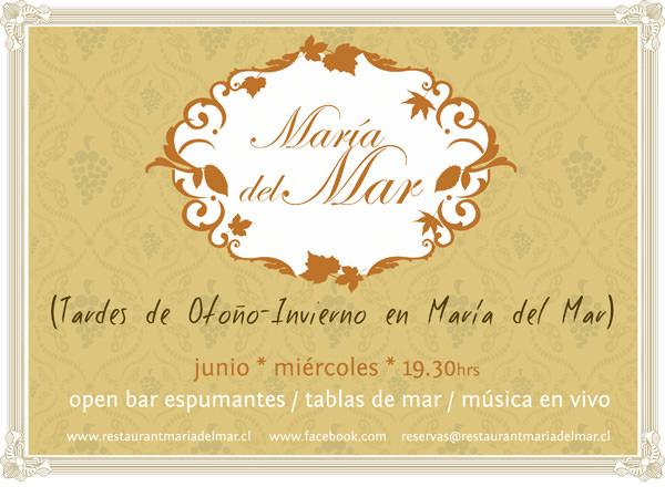 MIE/06 Tardes de Otoño- Invierno en Restaurant María del Mar 3