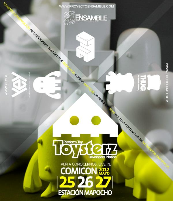 Toysterz debuta en Comicon 2012 1