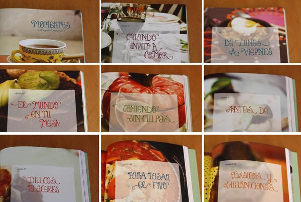 Momentos, el primer libro de cocina de Virginia Demaria 2