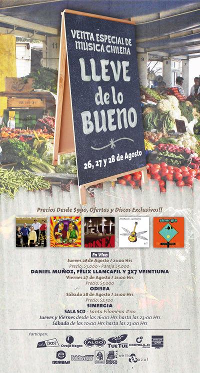 """VIE/27/08 Música Chilena: """"Lleve de lo Bueno"""" 3"""