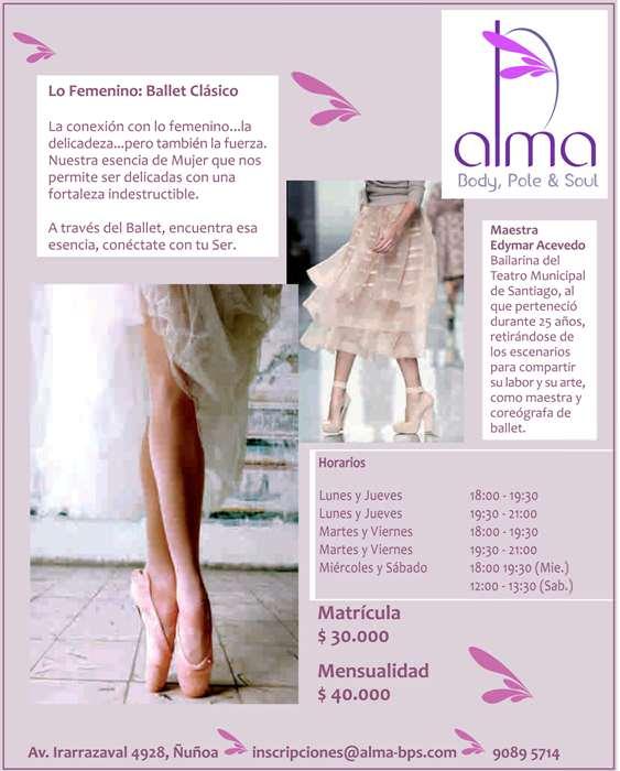 Talleres de Ballet Clásico 1