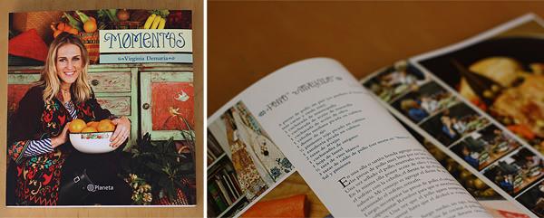 Momentos, el primer libro de cocina de Virginia Demaria 1