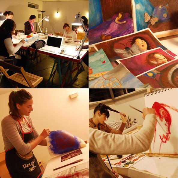 Talleres de Ilustración y Pintura 1