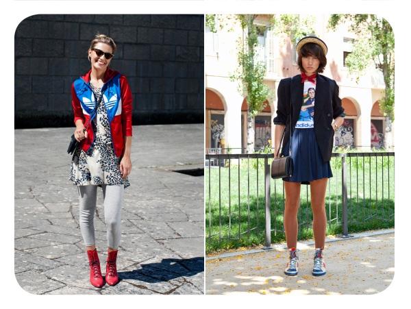 Realidad aumentada y Fran Torres en Adidas Originals 1