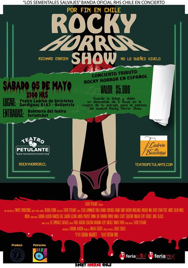 Rocky Horror Show en concierto 1