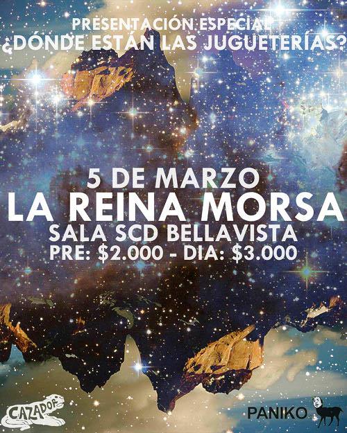 Lanzamiento disco La Reina Morsa + concurso 1