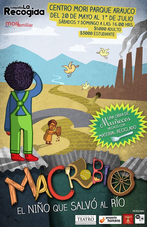 Teatro: Macrobio, el niño que salvo al río 1