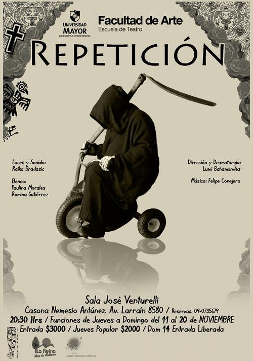 Teatro: Repetición 1