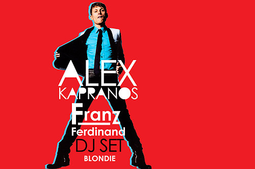 DJ Alex Kapranos en la Blondie 1
