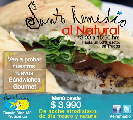Almuerzos naturales en Santo Remedio 3