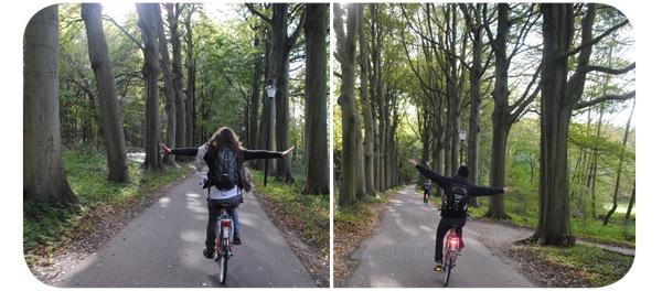 Andar en bici sin manos 1