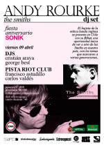Fiesta Aniversario Sonik + Andy Rourke en Chile 1