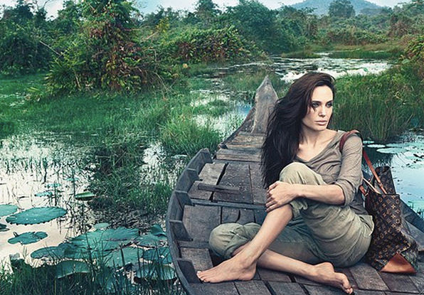 Angelina Jolie para Louis Vuitton  1