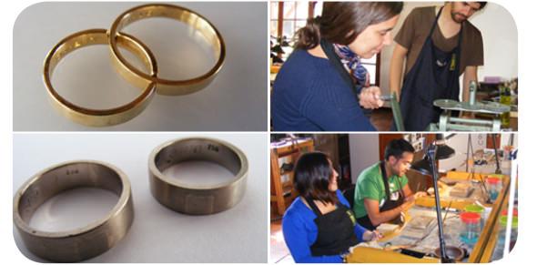Diseñar y fabricar tus propios anillos de compromiso 1