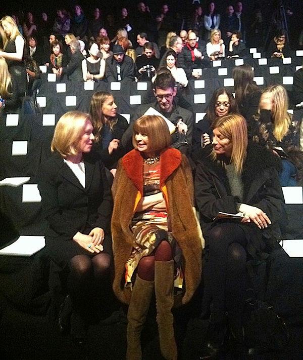 Recuento y backstage en la semana de la moda de Nueva York Otoño Invierno 2012 6