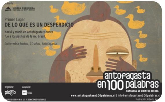 Los cuentos de Iquique y Antofagasta en 100 Palabras 6