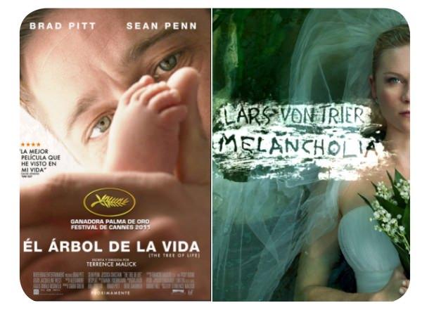 El Árbol de la Vida y Melancholia, quiero verlas (en el cine) 1