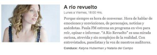 A Río Revuelto: el nuevo programa de Natalia Del Campo y Katyna Huberman 1