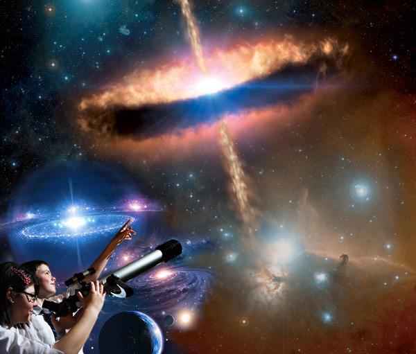Observación nocturna en Planetario 3