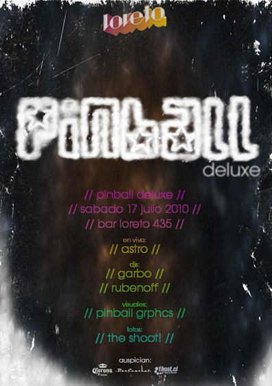 SAB/17/07 Fiesta Pinball Deluxe. Astro, en vivo. 1