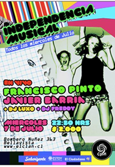 MIE/07/07 Javier Barria y Francisco Pinto en vivo 1