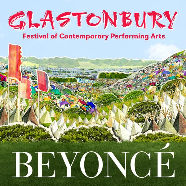 Beyoncé en Glastonbury 3