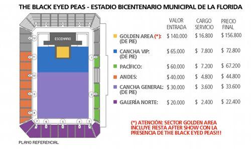 A la venta entradas para Black Eyed Peas 6