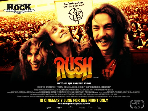 Beyond the lighted stage: el documental de Rush 1