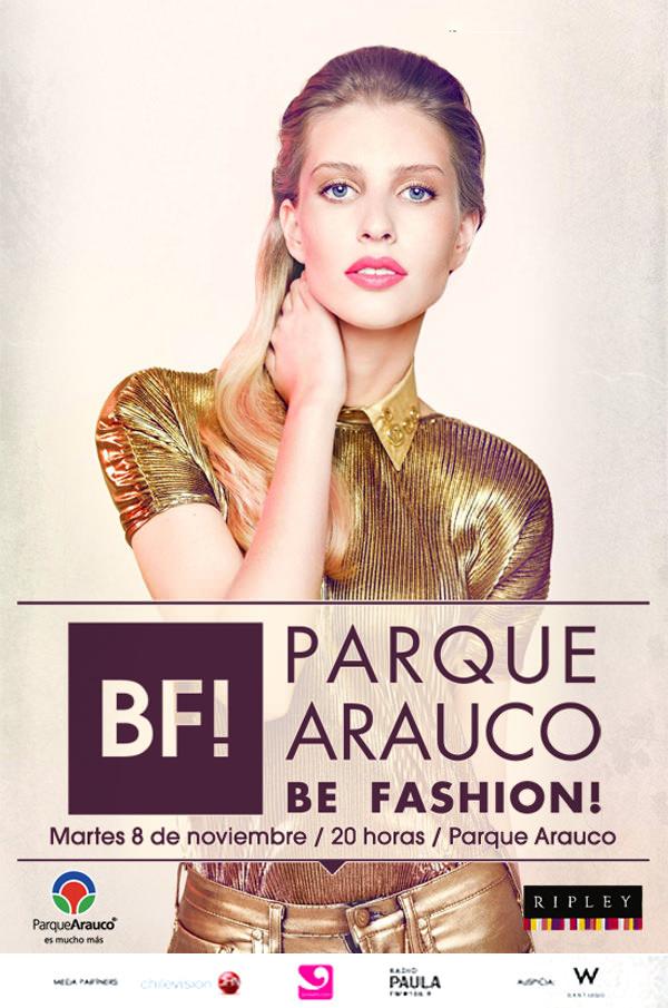 Gana pases dobles para Parque Arauco Be Fashion! (MIÉRCOLES)*  1