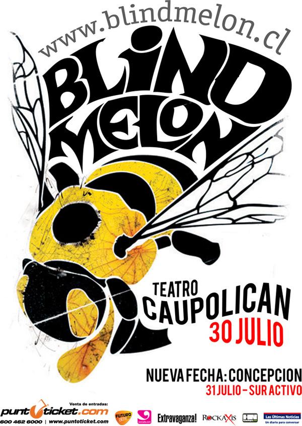 Gana entradas para Blind Melon en Teatro Caupolicán 3