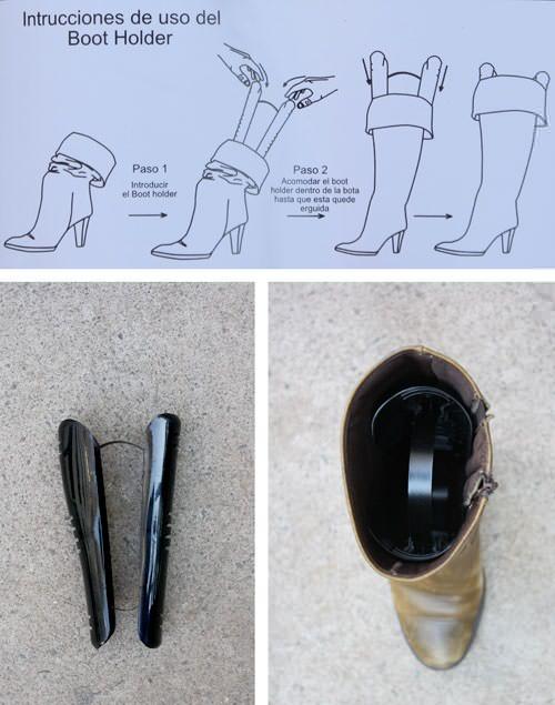 Dato para conservar las botas derechas 2