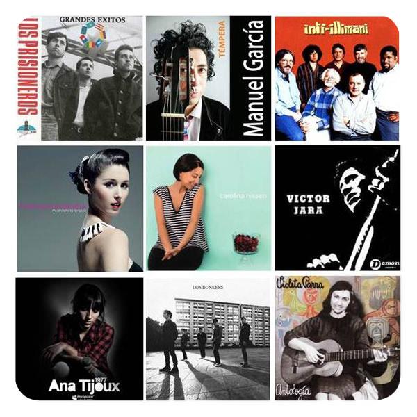 Música chilena para brasileño escuchar 3