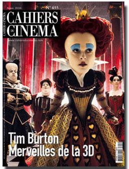 Alicia en la portada de Cahiers du Cinema 1