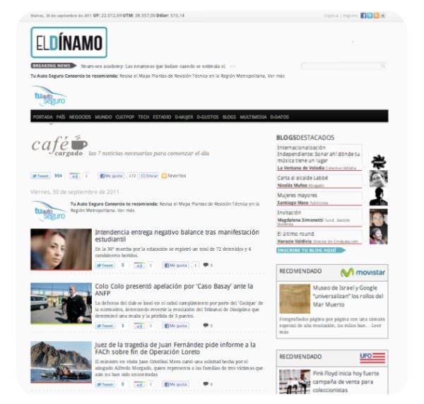 Café Cargado: las noticias indispensables en El Dínamo 3