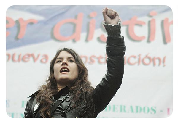 Camila Vallejo: personaje del año 1