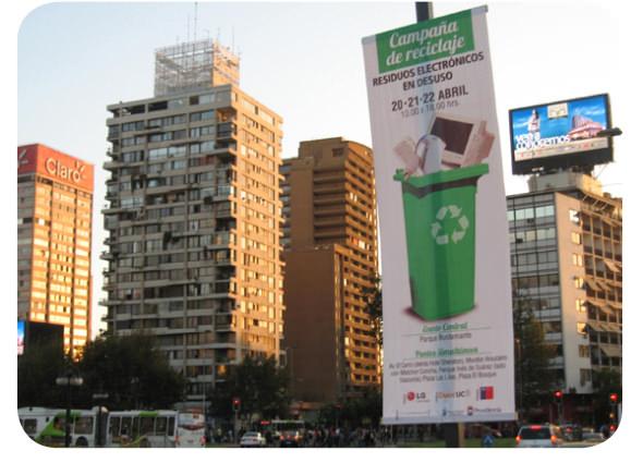 Campaña de reciclaje de artículos electrónicos en Providencia 3